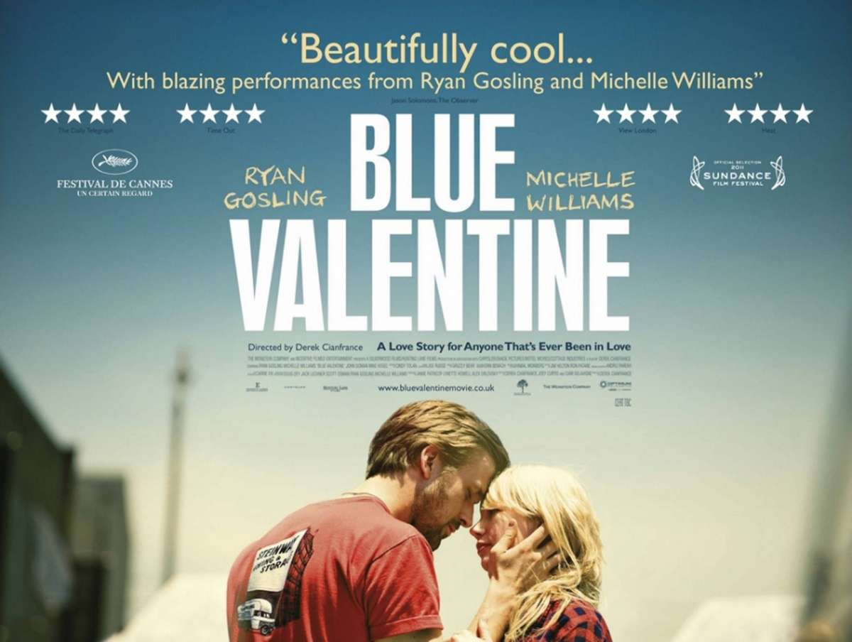 Películas para reflexionar sobre el amor: Blue Valentine