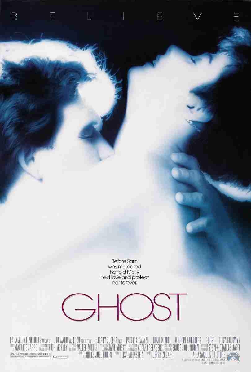 Peliculas para reflexionar sobre el amor: Ghost mas allá del amor