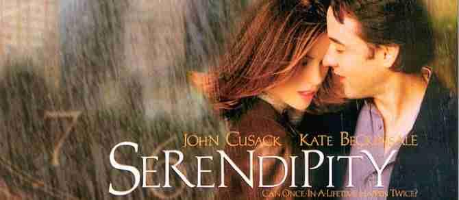 Películas para reflexionar sobre el amor: serendipity